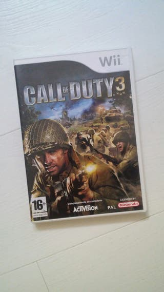 Juegos Wii > Call of duty 3