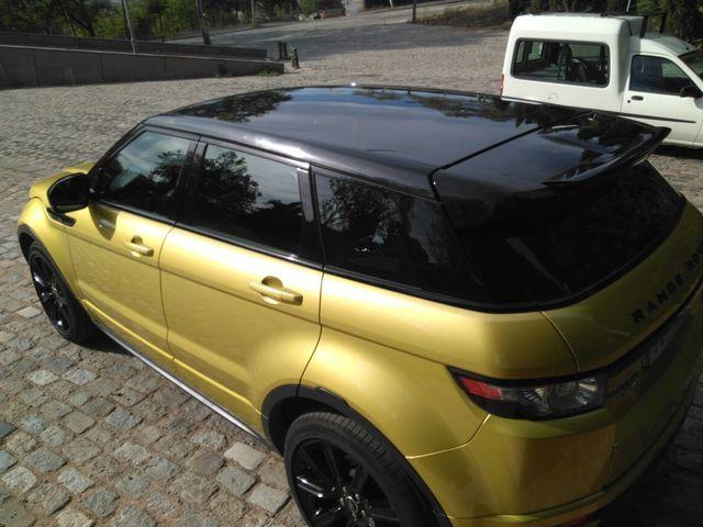 Edicion limitada Range Rover Evoque