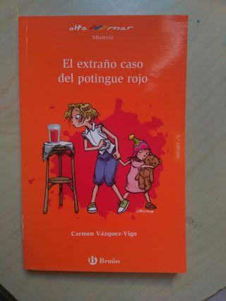 Libro de lectura El extraño caso del Potingue Rojo