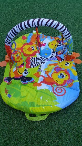 Gimnasio manta de actividades playgro bebe juguete