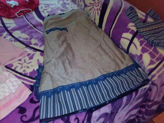 falda arrantzal mujer