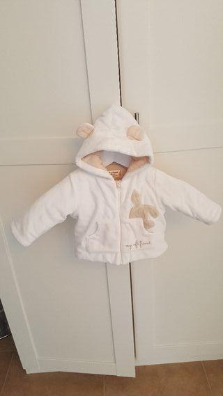 Chaqueta invierno bebe ropa niño niña.3-6meses62cm
