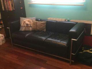 Sofa cuero LC Le Corbusier