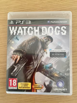 Juego PS3 Watch Dogs Play3