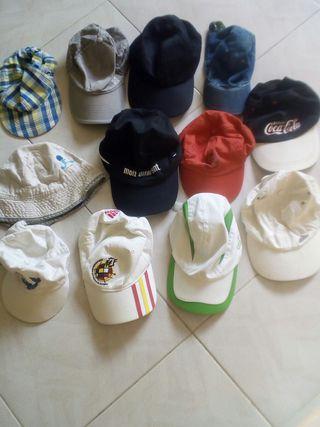 gorras todas 8€