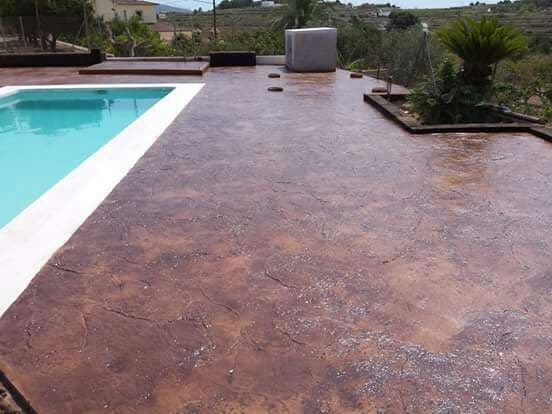 Pavimento hormig n impreso y pulido en argentona wallapop - Pavimento hormigon pulido ...