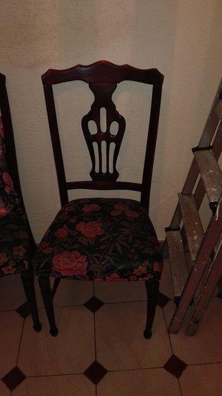 sillas de comedor o salita