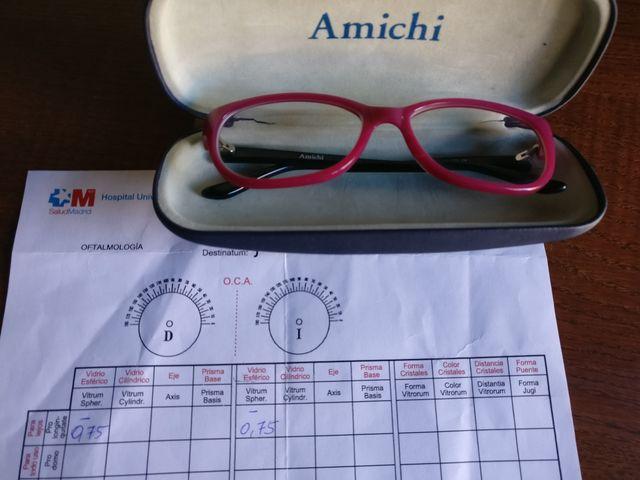 793f5c0adf Gafas niña graduadas Amichi de segunda mano por 19 € en Valdemoro en ...