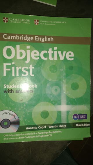 Objective first Student's book.