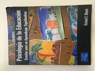 Libro Psicologia Educación