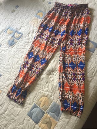 Pantalón estilo sarouel