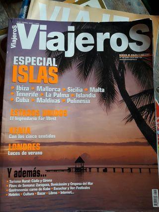 Revistas Viajeros y Viajes
