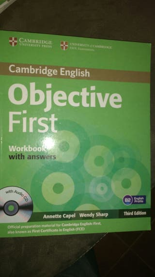 Objective fisrt. Workbook with answers.