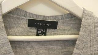 Jersey gris talla xs, s