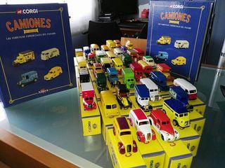 Camiones escala. Colección completa. 37 uds.