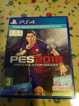 PESS 2018 PS4