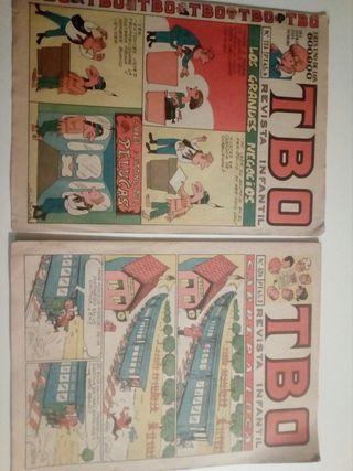 TBO, revista infantil, originales 1968
