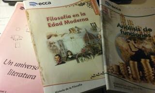 LIBROS DE BACHILLERATO ECCA