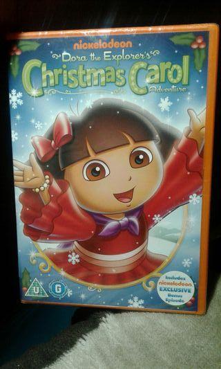dvd dora christmas carol new for sale  UK