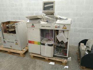 Maquina tintometrica y mezcladora de pinturas