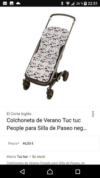 Colchoneta carro verano TUC TUC