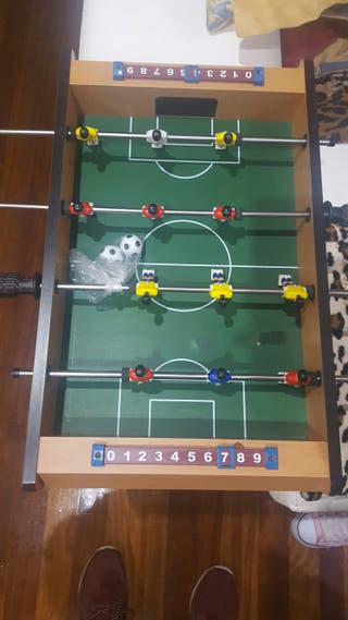 2x1 futbolin + castillo bolas