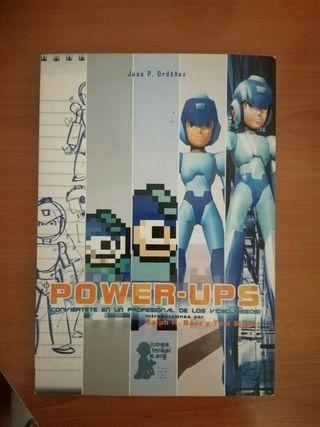 """Libro """"Power Ups"""" diseño de videojuegos."""