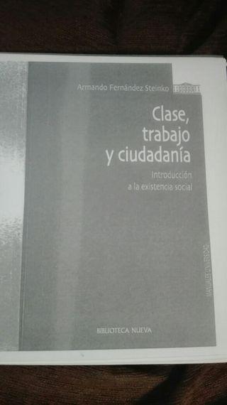 Libro Clase, trabajo y ciudadanía