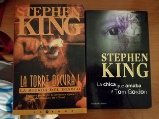 Pack libros Stephen King.