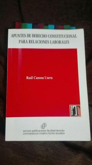 Apuntes de Derecho Constitucional para RRLL