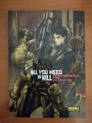 """Novela """"All You Need Is Kill"""""""