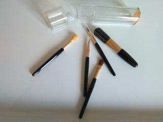 Pinceles cosmética