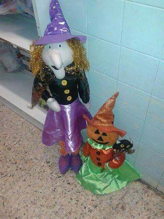 muñecos hallowen