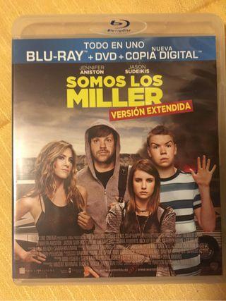 Pelicula Bluray y Dvd Somos los Miller