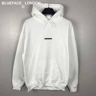 BlueFace London White Hoodie
