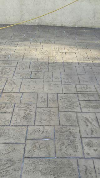 beton amprentat si constructii