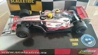 Coche F1 Formula 1 para Sacalextric.