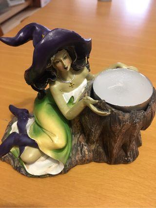Porta velas ceramica