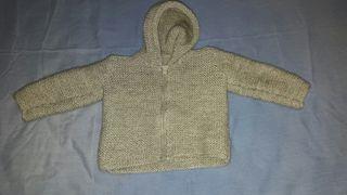 chaqueta lana bebe