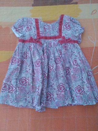 precioso vestido estampado