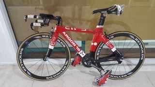 bicicleta de triatlhon