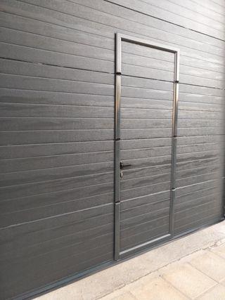 Puerta de garaje automatica
