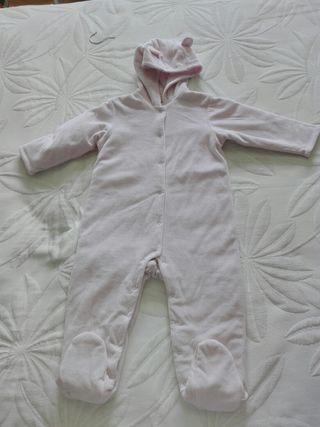 Mono de invierno bebé