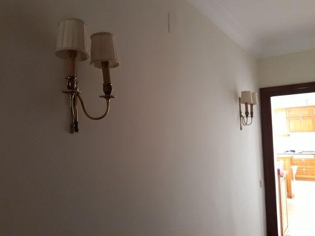 3 lamparas apliques pared bilbao o santander de segunda - Lamparas bilbao ...