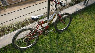 """Bicicleta Coluer 20"""" 6 marchas y 2 platos"""