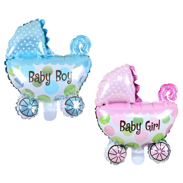 Globo carrito de bebé