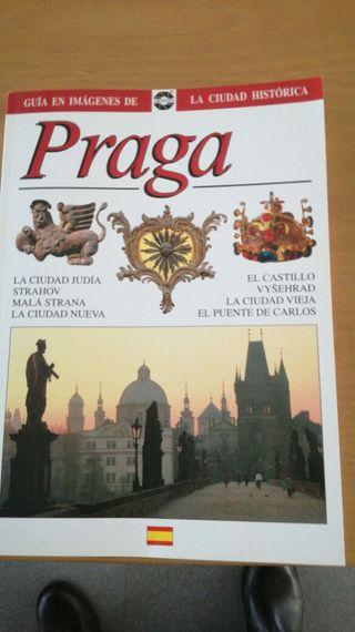 libro ,guia turística Praga