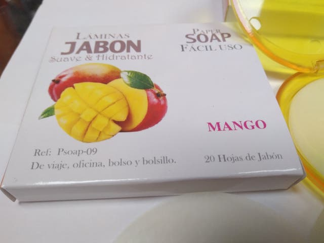 Hojas de jabon de Mango