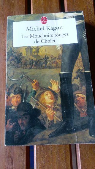"""Michel Ragon """"les Mouchoirs rouges de Cholet"""""""