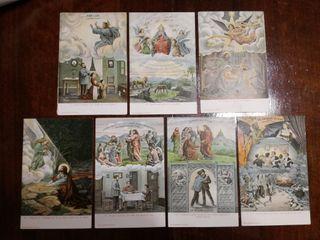 El Padre Nuestro ilustrado 7 Postales(no negociabl